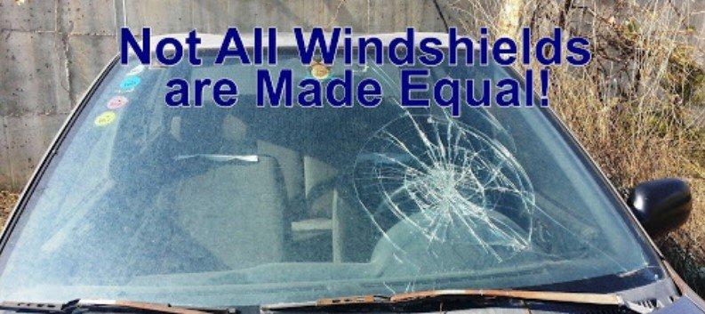 identify OEM windshield